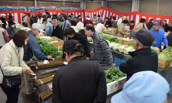 農産物共進会(農業まつり)